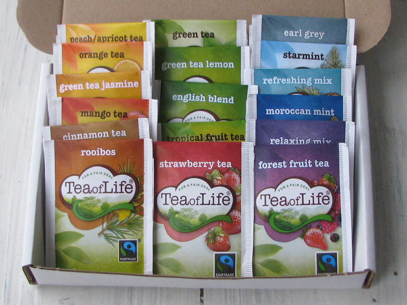 Tea of Life all flavours mix