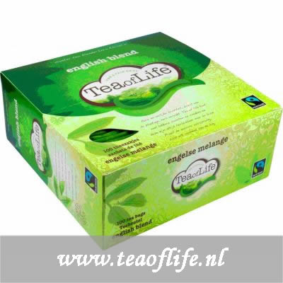 Tea of Life english blend 1x100 stuks á 2 gram