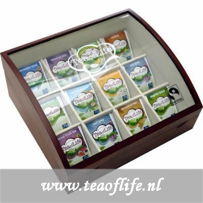 Tea of Life luxe wooden box 12x10 old model