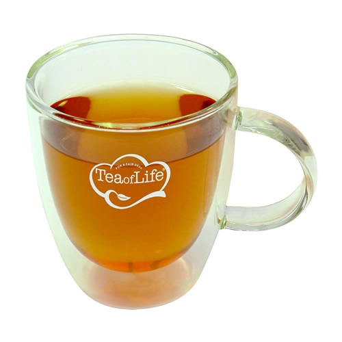 Tea of Life Double walled tea glas 30cl <br />