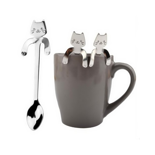 Tea spoon Cat lazy