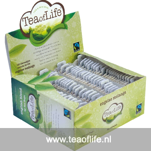 Tea of Life english blend 1x100 st of 2 gram no envelop