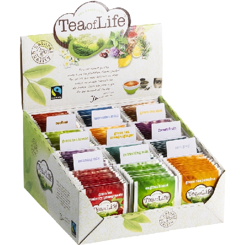Tea of Life assortibox 12x10 envelops
