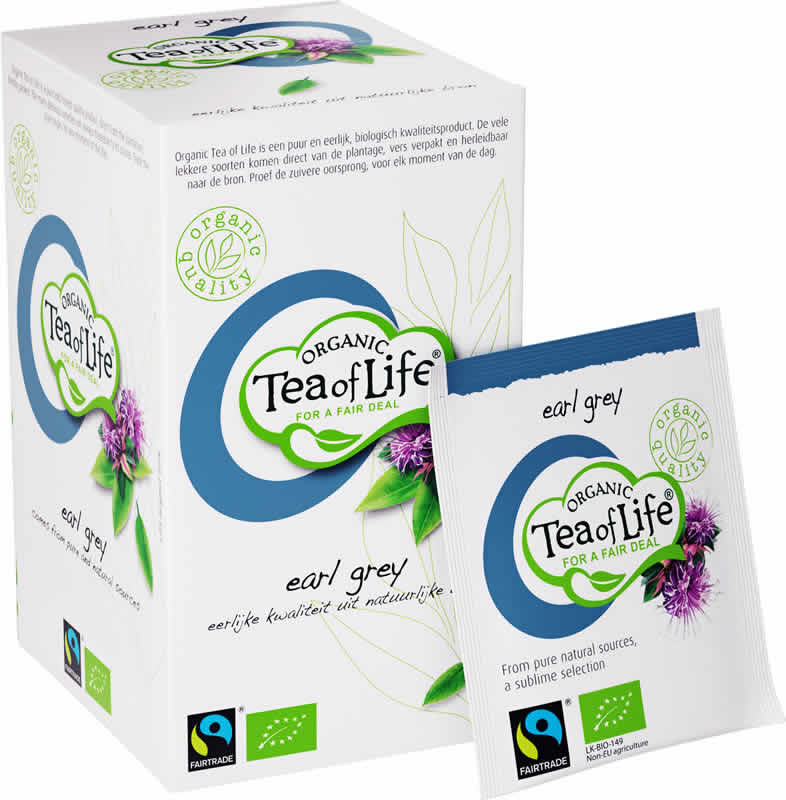 Tea of Life Organic Earl Grey 25 stuks