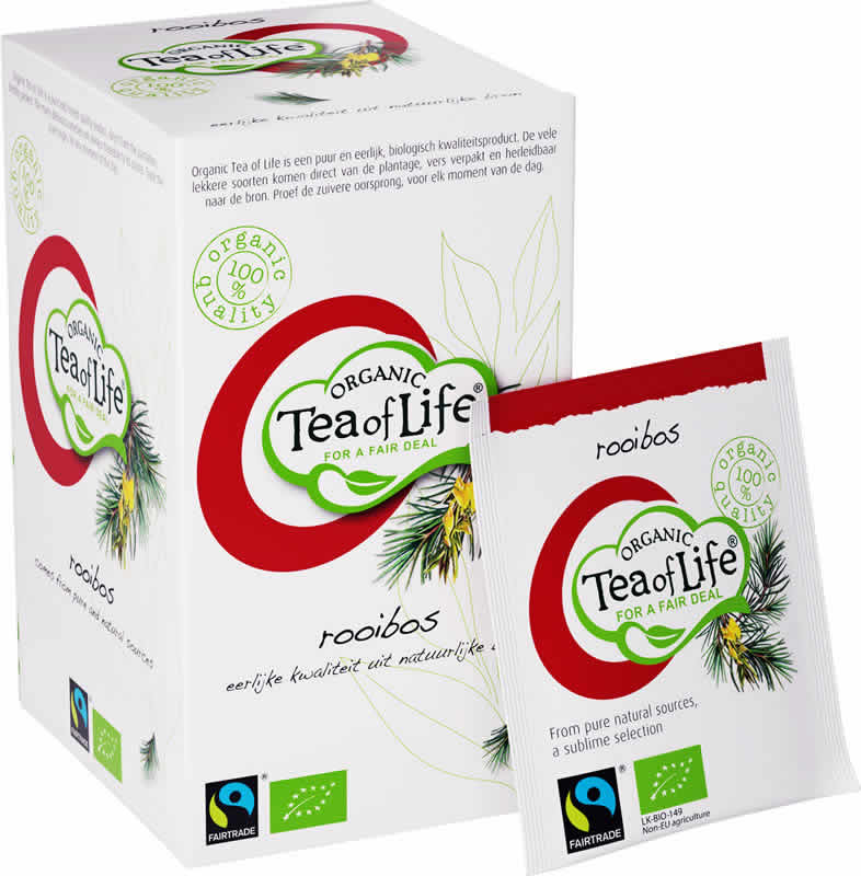 Tea of Life Organic Rooibos 25 bags