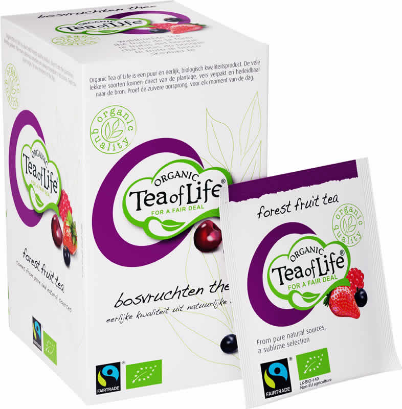 Tea of Life Organic Forest Fruits 25 bags