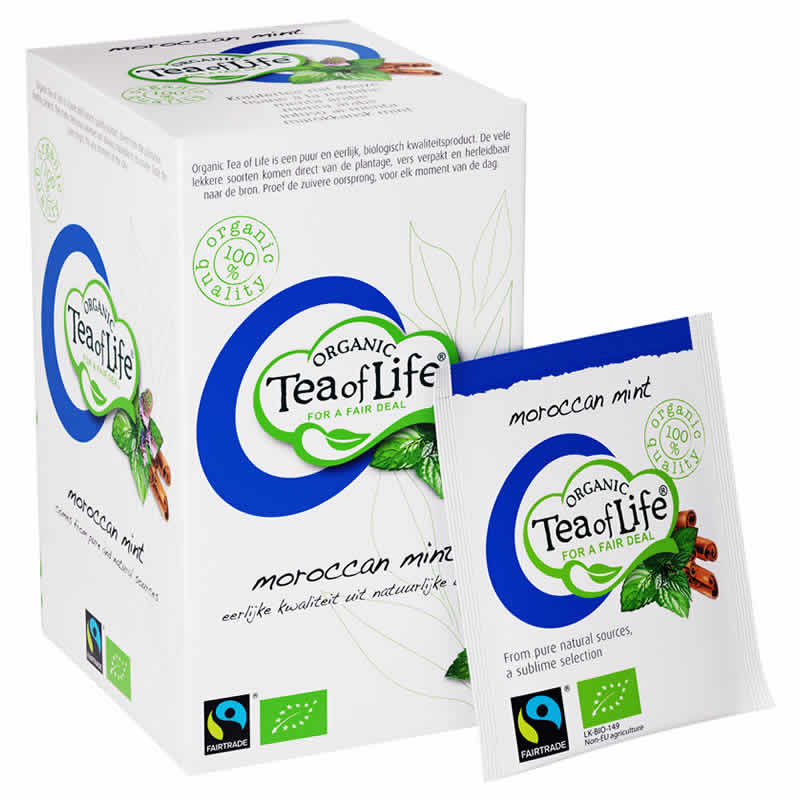 Tea of Life Organic moroccan mint 20 zakjes