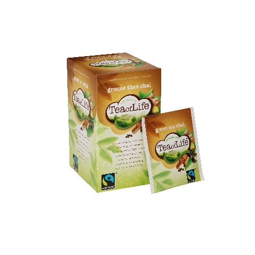Tea of Life groen chai