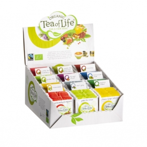 Tea of Life assortibox 12x10 organics envelops