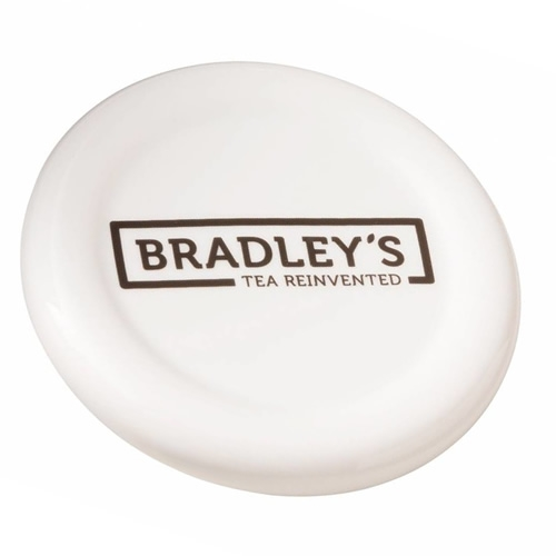 Bradley Tea tip/plate with logo